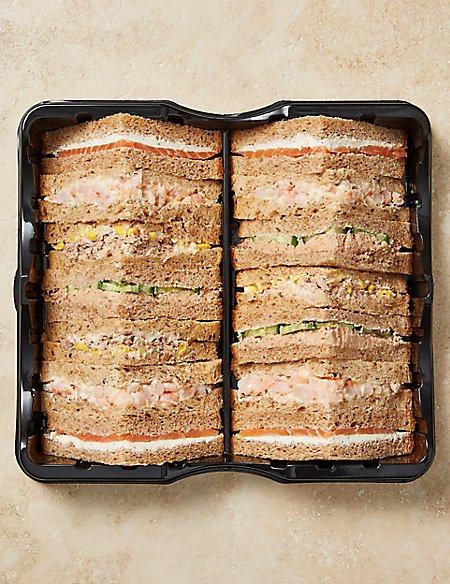 Fish Sandwich Selection (14 Pieces)