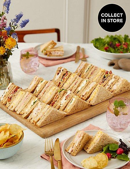 Classic Sandwich Selection (30 Pieces)