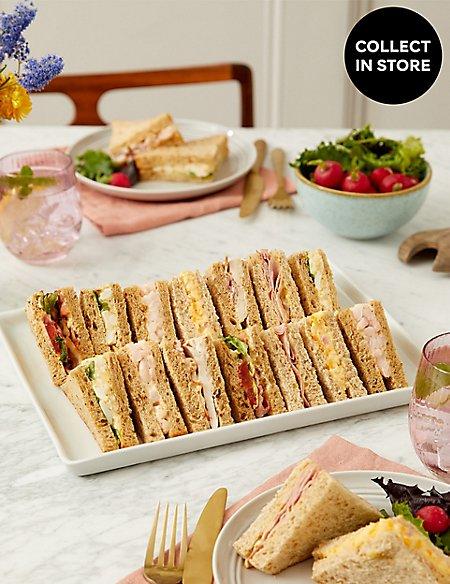 Classic Sandwich Selection (14 Pieces)