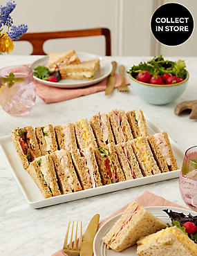 Classic Sandwich Selection (14 Pieces)