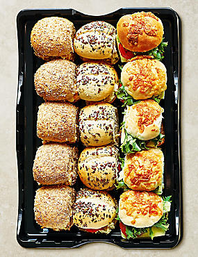 Vegetarian Mini Roll Selection (15 Pieces)