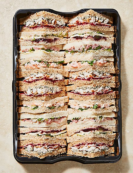 Festive Shelter Sandwich Platter (20 Pieces) 5% of all sales will be donated to Shelter