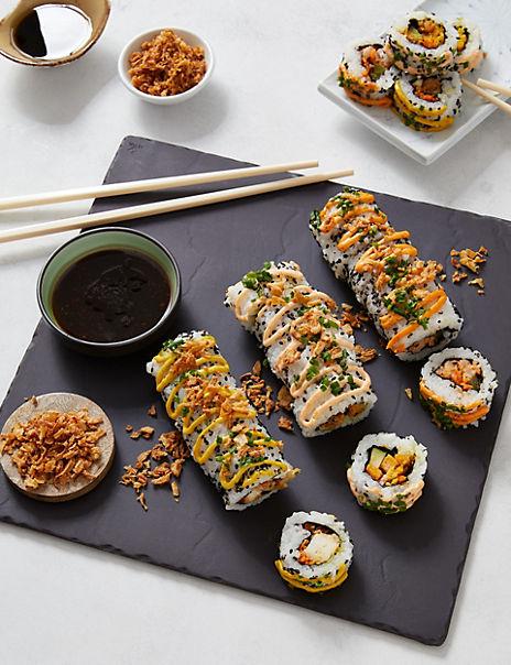 Dragon Roll Sushi Platter