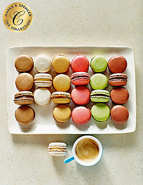 The Collection Chocolate Macaroon Assortment (24 Pieces) - Last Day to Collect 30th September
