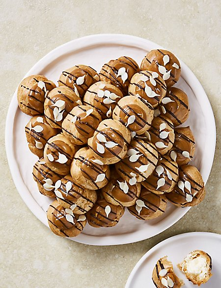 The Collection Salted Caramel Profiterole Stack (30 Pieces)