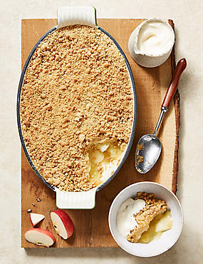 Large Apple Crumble (Serves 8)
