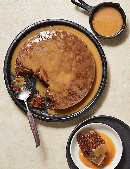 Large Sticky Toffee Pudding (Serves 8)
