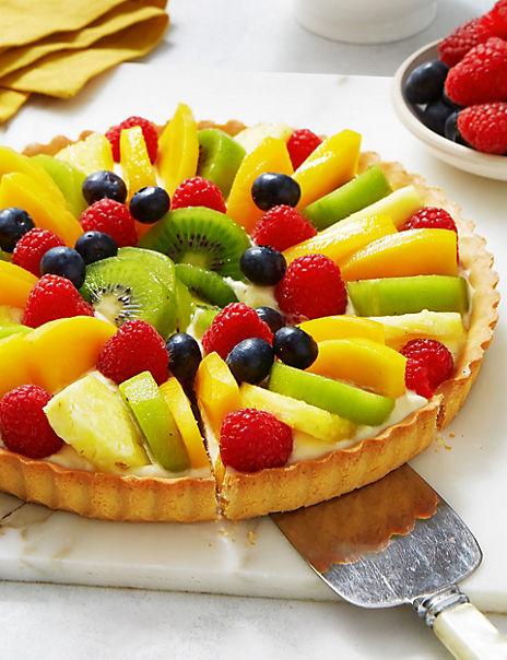 Exotic Fruit Tart (Serves 8)