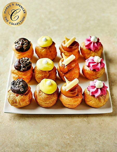 The Collection Afternoon Tea Profiteroles Selection (12 Pieces)