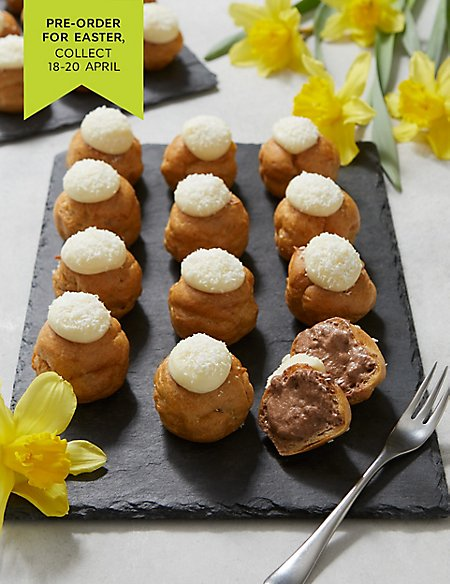 Bunny Tail Profiteroles - 24 Pieces (Pre-order for Easter collection 18th-20th April)