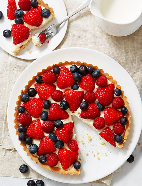 Mixed Berry Tart (Serves 8)