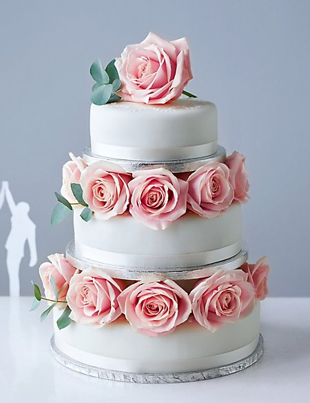 Traditional wedding cake small tier serves 8 12 ms traditional wedding cake small tier serves 8 12 junglespirit Choice Image