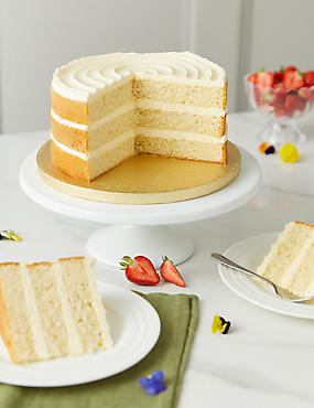 Vanilla Naked Cake (Serves 20)