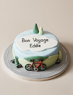 Personalised Cycling Cake (Serves 24)
