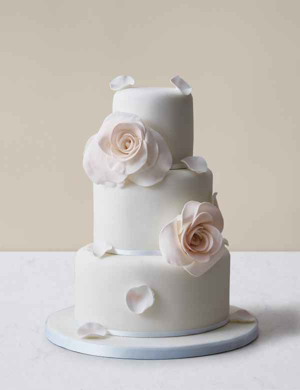 Three Tear Wedding Cakes.Wedding Cakes 3 Tier 2 Tier 4 Tier Wedding Cakes M S