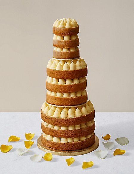 best vanilla sponge for wedding cake style vanilla sponge wedding cake m amp s 11385