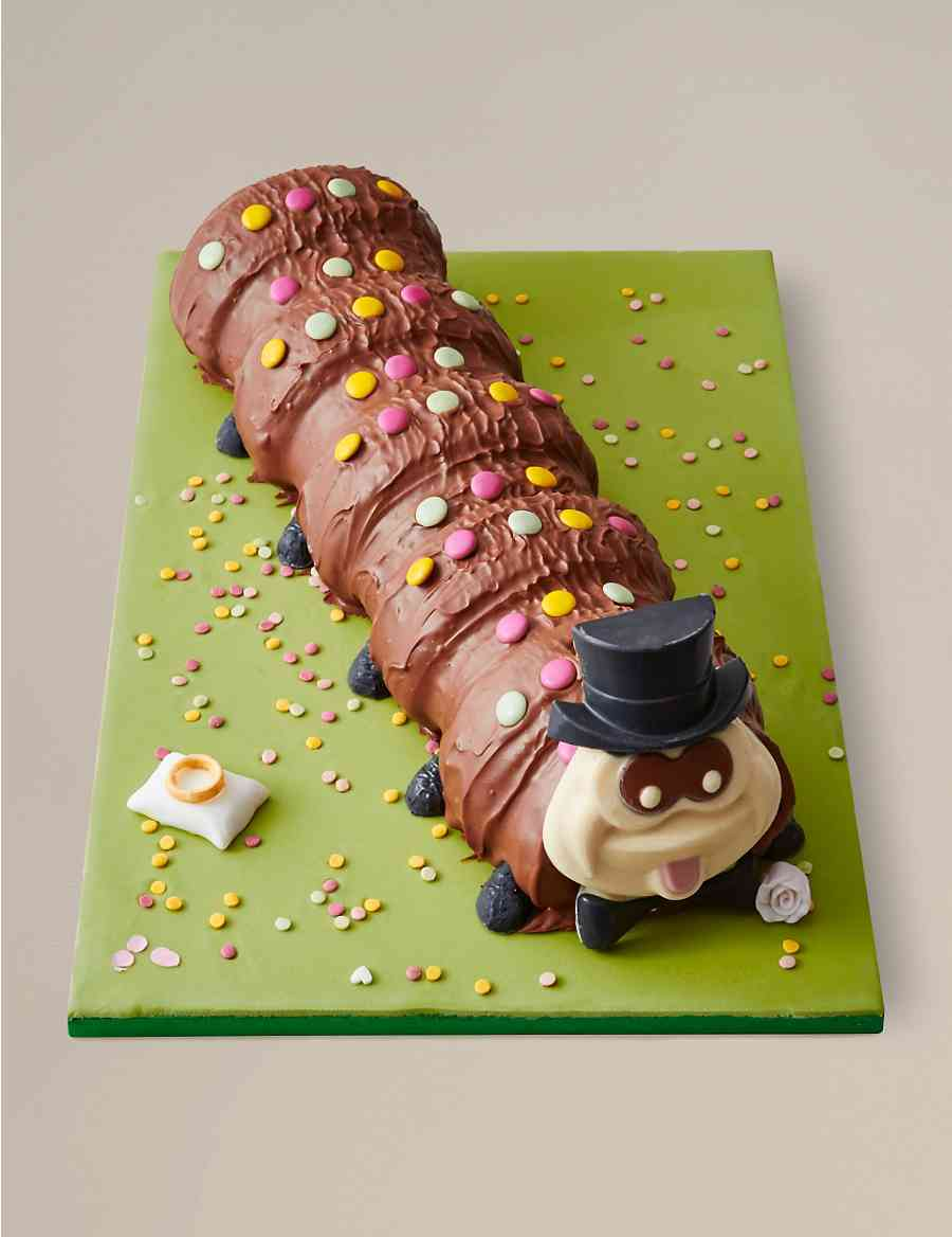 Colin The Groom Wedding Cake Serves 40