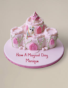 Fairytale Castle Cake (Serves 36)