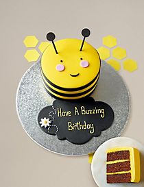 Stripe the Bumblebee Cake