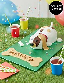 Buddy the Puppy Cake