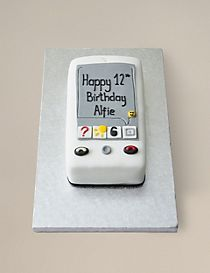 Mobile Phone Cake