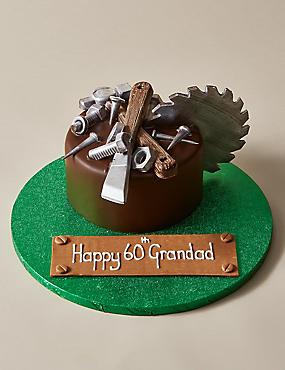 Personalised Extremely Chocolatey DIY Cake (Serves 12)