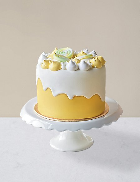 Lemon Meringue Dribble Cake (Serves 12)