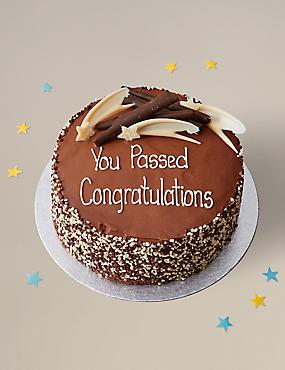 Personalised Gluten Free Extremely Chocolatey Party Cake Serves 16
