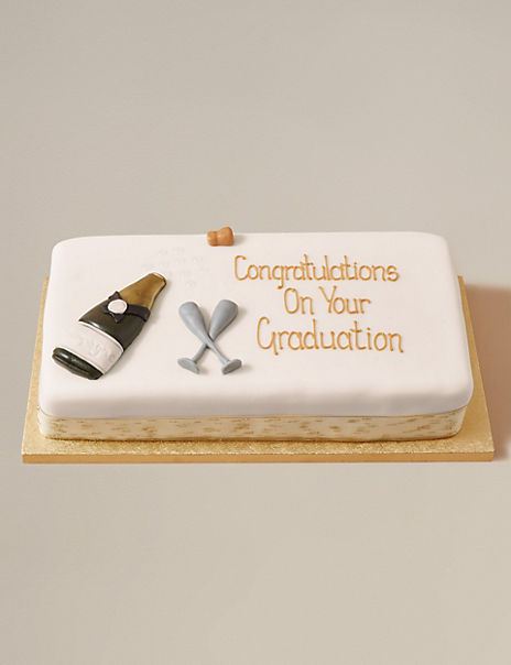 Personalised Congratulations Bar Cake (Serves 36)