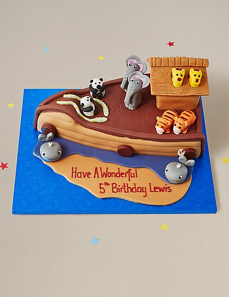 Noah's Ark Cake (Available to order until 5th February 2018)