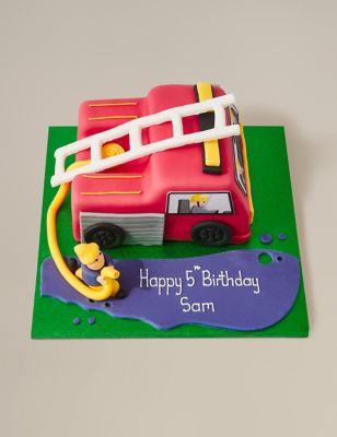 Fire Cake Serves 42 M S