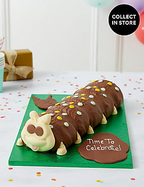 Personalised Giant Colin The Caterpillar Cake Serves