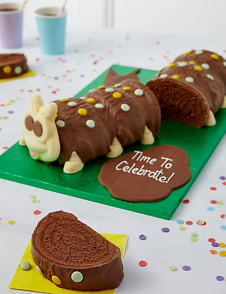 Personalised Giant Colin the Caterpillar Cake (Serves 40)