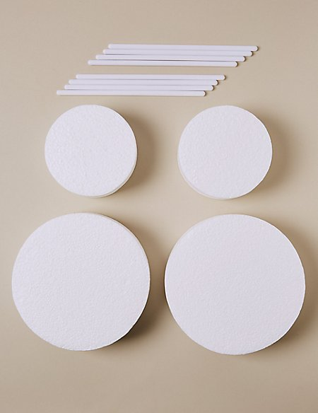 marks and spencer wedding cake dowels 4 polystyrene blocks amp 8 dowels wedding cake accessories 17171
