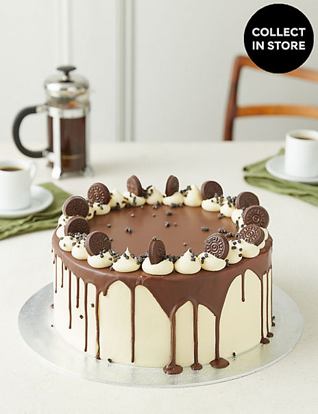 Extra Large Cookies & Cream Cake (Serves 32)
