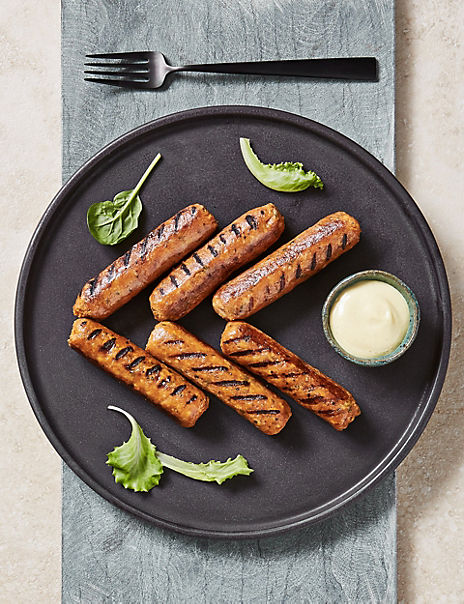 Butternut Squash & Paprika Sausages (12 Pieces)