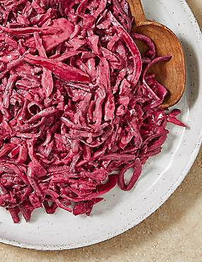 Beetroot, Apple & Pink Cabbage Skinny Slaw (Serves 9)