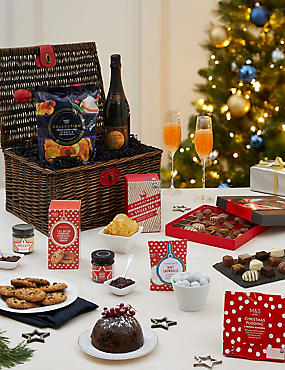 The M&S Classic Festive Hamper with Fizz