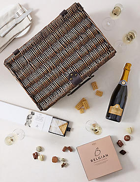 The Blenheim Champagne & Chocolate Hamper