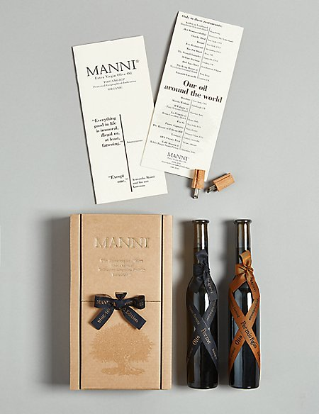 Manni Toscano Oil Gift Box (Available for delivery from 1st Nov 2018)