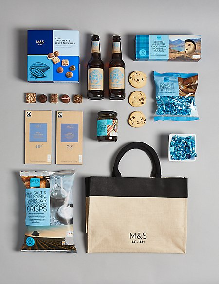 The Sapphire Treat Selection Gift Bag