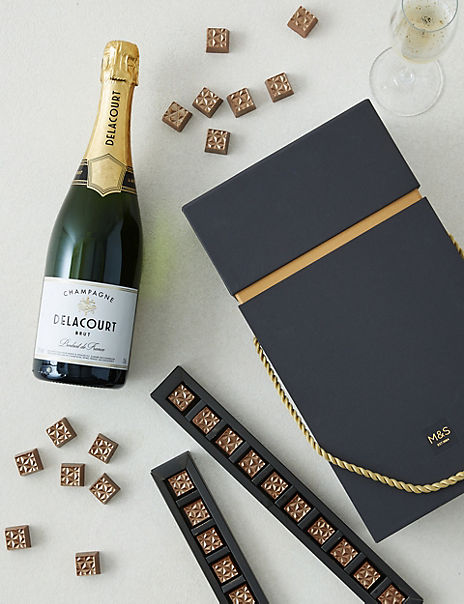 Champagne and Chocolates Gift Set