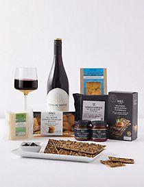 Summer Sundown Cheese & Wine Gift