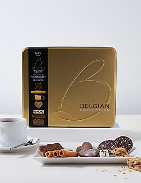 Belgian Collection Biscuit Tin 1kg