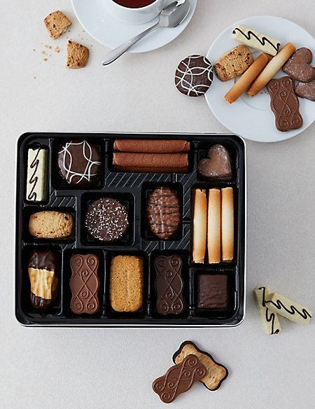 Belgian Collection Biscuit Tin 1kg M Amp S