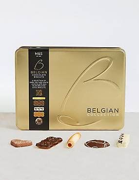 Belgian Collection Biscuit Tin 400g