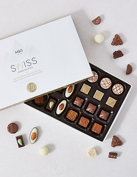 Swiss Chocolate Box 290g