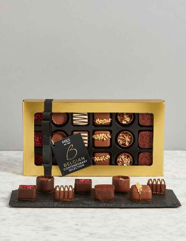 Belgian Contemporary Chocolate Selection