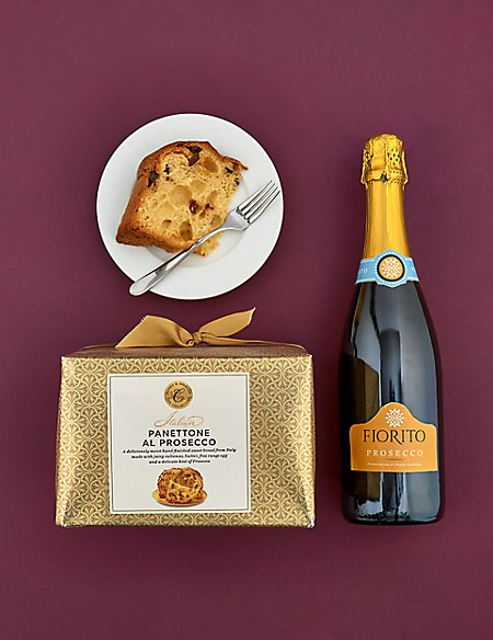 Prosecco and Panettone Gift Selection