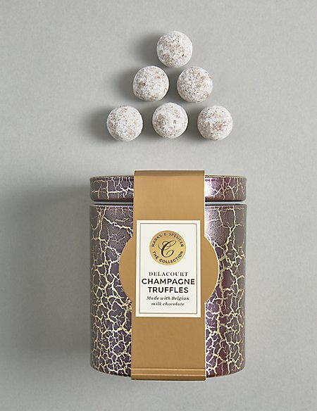 Delacourt Champagne Truffles (Available for delivery from 1st Nov 2018)